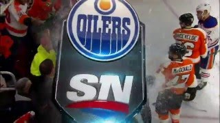 Simmonds, Maroon, Pardy, White, Kassian, Gudas and... - Flyers vs Oilers war, 03 march 2016