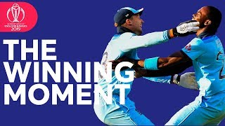 The Moment England Won the World Cup! | Plus Trophy Lift Celebrations! | ICC Cricket World Cup 2019
