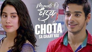 Chota sa ghaav hai | Moments Of Dhadak | Janhvi & Ishaan | Shashank Khaitan | 20th July