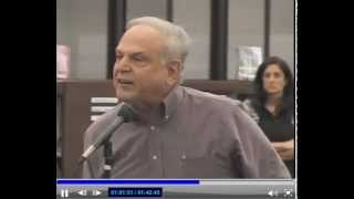 Superintendent goes crazy at Board of Ed Meeting in Monroe Twp. NJ