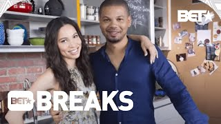 """Jussie And Jurnee Smollett Premiere Show """"Family Eats"""" On Food Network"""