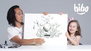Kids Describe Aliens to an Illustrator