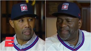 Lee Smith and Harold Baines react to Hall of Fame call   Major League Baseball