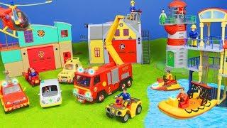 FEUERWEHRMANN SAM: Neue Feuerwehrautos & Best Rescue Station für KINDER | Fireman Sam Folgen deutsch