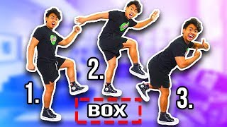 INVISIBLE BOX CHALLENGE! (How To Master)