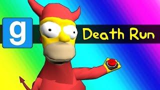 Gmod Deathrun - Homer Simpson Tryouts Parody (Garry