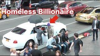 The Homeless Billionaire Prank!