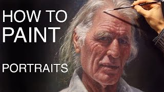 How To Paint Portraits: EPISODE ONE - Russell Petherbridge
