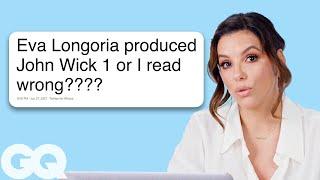 Eva Longoria Goes Undercover on Reddit, YouTube and Twitter | GQ