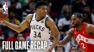 RAPTORS vs BUCKS   Kawhi Leonard Drops 35 Points & 9 Assists in Milwaukee   Game 5