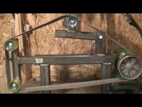 Homemade Knife Grinder - Woodworking Plans Free