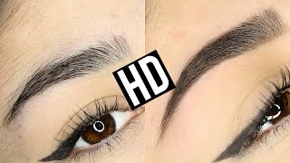HD HIGH DEFINITION BROWS EYEBROW TRANSFORMATION | BEFORE & AFTER