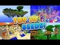 TOP 10 BEST SEEDS for Minecraft! (Pocket...mp3