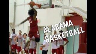 Alabama Basketball Practice