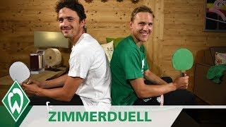 Zimmerduell: Thomas Delaney & Ludwig Augustinsson | SV Werder Bremen