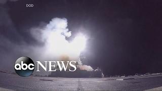 The strike on Syria