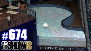 HOMERING INTO THE RAYS TANK! | MLB The Show 18 | Road to the Show #674