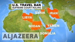 US Supreme Court agrees to hear Trump Muslim ban case later