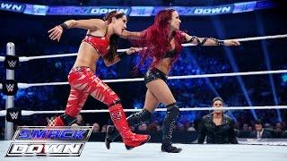 Nikki Bella & Brie Bella  vs. Naomi & Sasha Banks: SmackDown, July 23, 2015