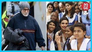 Amitabh's Still From 'Thugs Of Hindostan' | Priyanka Honored With The Mother Teresa Memorial Award