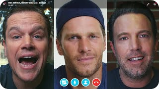 Matt Damon & Ben Affleck Fight Over Tom Brady