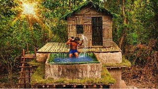 The Most Beautiful Bamboo Swimming Pool On Top Roof Building By Clever Bushman