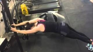 Daisy Ridley gym workout/training for Star Wars: The Force Awakens