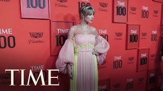 Taylor Swift Hits The Red Carpet At The TIME 100 Gala | TIME