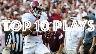 Top 10 Plays of the 2016 Alabama Football Regular Season HD