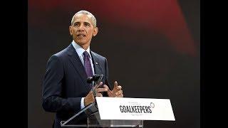 Barack Obama touts the virtue of change (Entire speech)