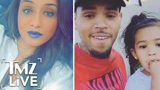 Chris Brown Destroys Baby Mama | TMZ Live