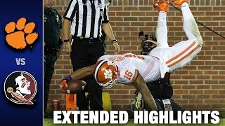 Clemson vs. Florida State: Extended Football Highlights (2016)