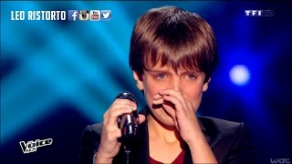 AMAZING YOUNG BOY singing - I will always love you // THE VOICE KIDS