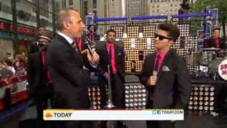 Bruno Mars on the Today Show -