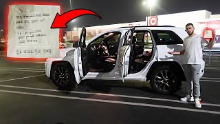 Haters broke into his car & we found THIS...