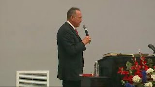Roy Moore addresses supporters