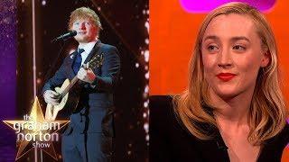 Ed Sheeran Tattooed Saoirse Ronan's Handwriting Onto Himself! | The Graham Norton Show