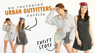 URBAN OUTFITTERS THRIFT STORE CHALLENGE