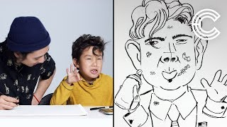 Maddox Describes Trump to an Illustrator