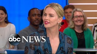 Charlize Theron opens up about