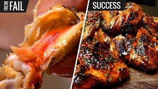 Sous Vide Chicken Wings FAIL!!! But then SUCCESS...