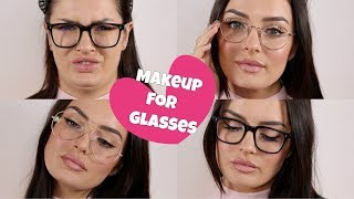 Everyday Makeup Tips for Glasses! + My Spectacle Collection