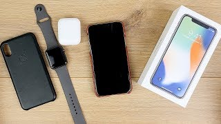 iPhone X: Ehrliches Test Fazit nach 72 Stunden intensiver Nutzung // hands on & review // DEUTSCH