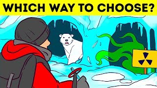 8 Riddles Where You Need to Make the Right Choice to Survive