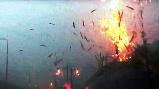 Crazy Close Up Lightning Strike Compilation 2017