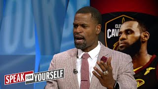 Stephen Jackson breaks down LeBron