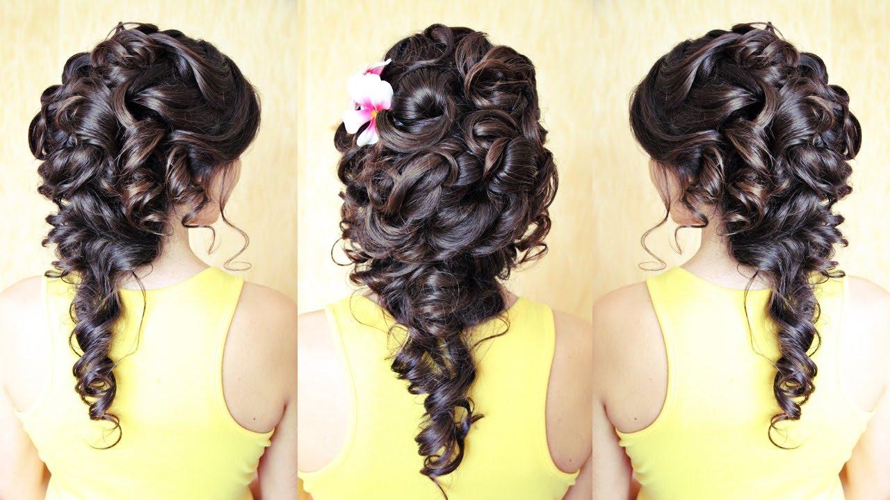 Причёски на коричневые волосы