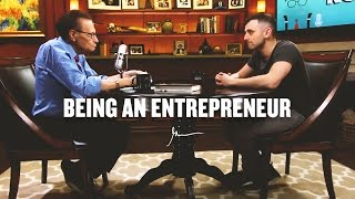 BEING AN ENTREPRENEUR | Gary Vaynerchuk With Larry King 2016