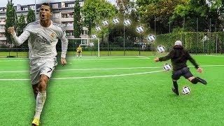 CRISTIANO RONALDO FUßBALL CHALLENGE ! (+BESTRAFUNG)