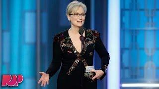 Meryl Streep's Golden Globes Speech